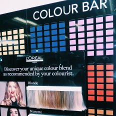 Loreal Colorful hair range