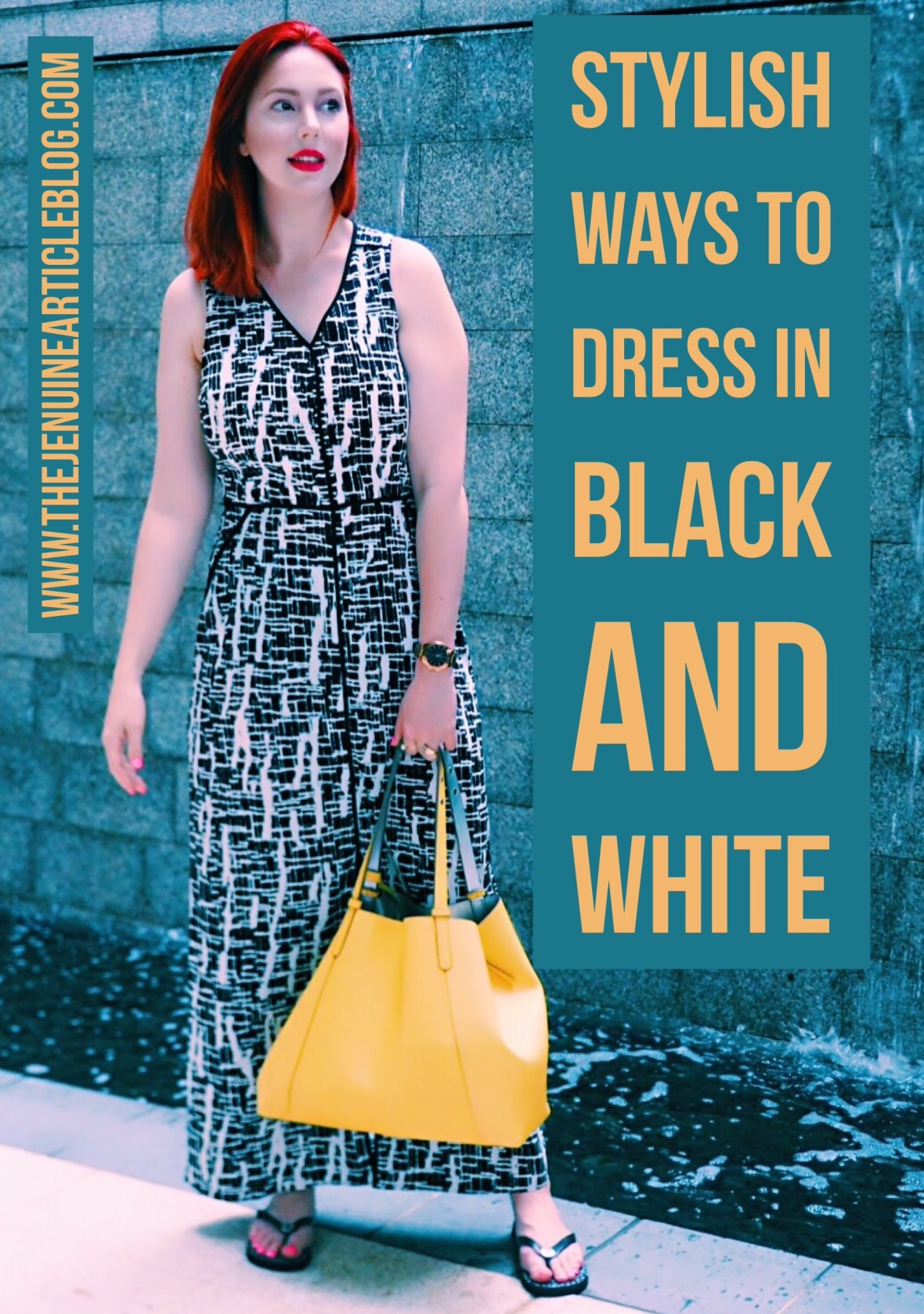 Black and white is the most timeless combination around. Effortlessly chic, edgy and modern. How should you be wearing black and white in 2018?