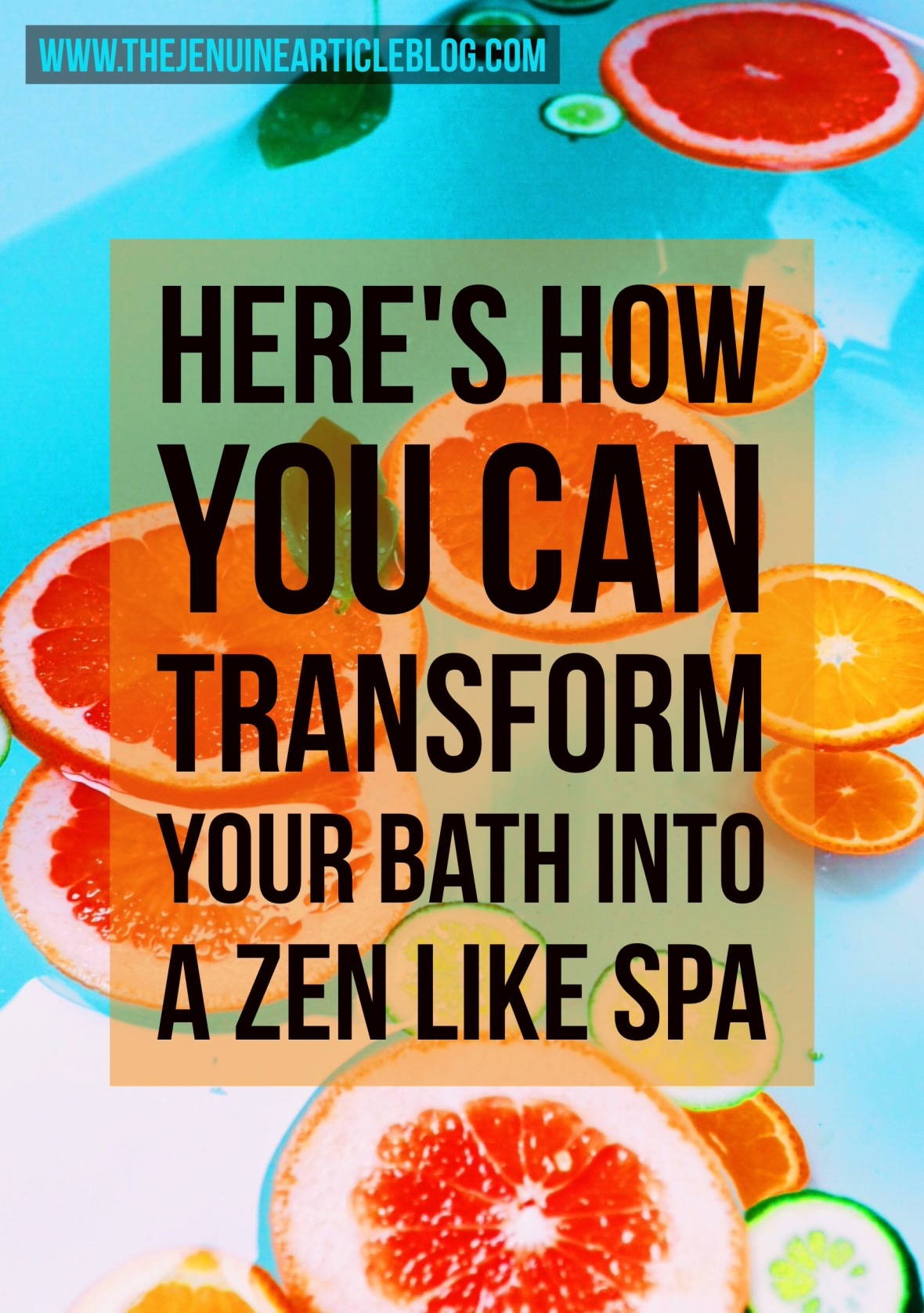 How to transform your bath into a Zen like spa experience